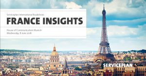 Serviceplan International Roadshow France Insights
