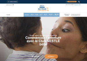Club Bébé Nestlé, le service Nestlé dédié aux jeunes parents