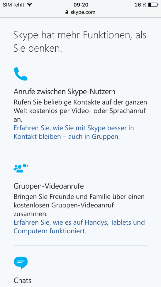Fail Skype Mobile