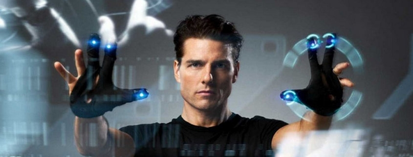 Tom Cruise face à ses écrans dans Minority Report